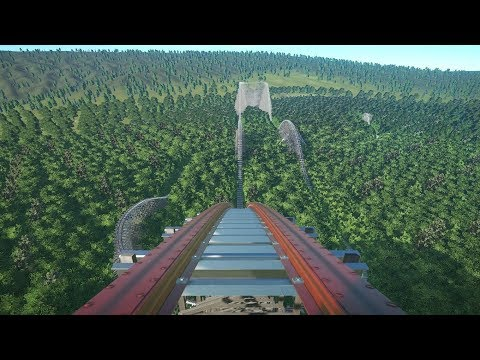 Planet Coaster: Steel Hunter Roller Coaster