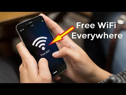 Free WiFi Anywhere Anytime!!
