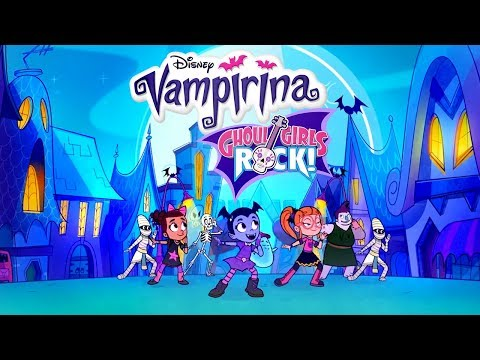 Ghoul Girls Rock Compilation | Vampirina | Disney Junior