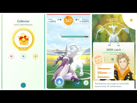 Reshiram Duo With Palkia No Weather Boost And My 300K Catch