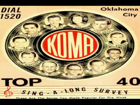 KOMA Radio Broadcast Oklahoma January  5, 1964