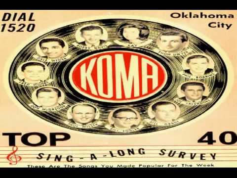 KOMA Radio Broadcast Oklahoma January  5, 1964