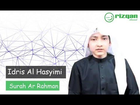 Download Lagu Lantunan merdu Surah Ar Rahman - Idris Al Hasyimi