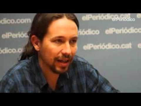 Pablo Iglesias entrevista El Periódico de Cataluña