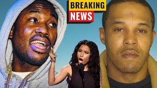 BREAKING: Meek Mill CONFRONTS Nicki Minaj's Husband Today After They Meet In Store!!