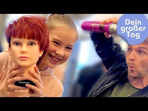 Tolle Farben und stylische Frisuren - Amelie als Hairstylistin   Dein großer Tag   SWR Kindernetz