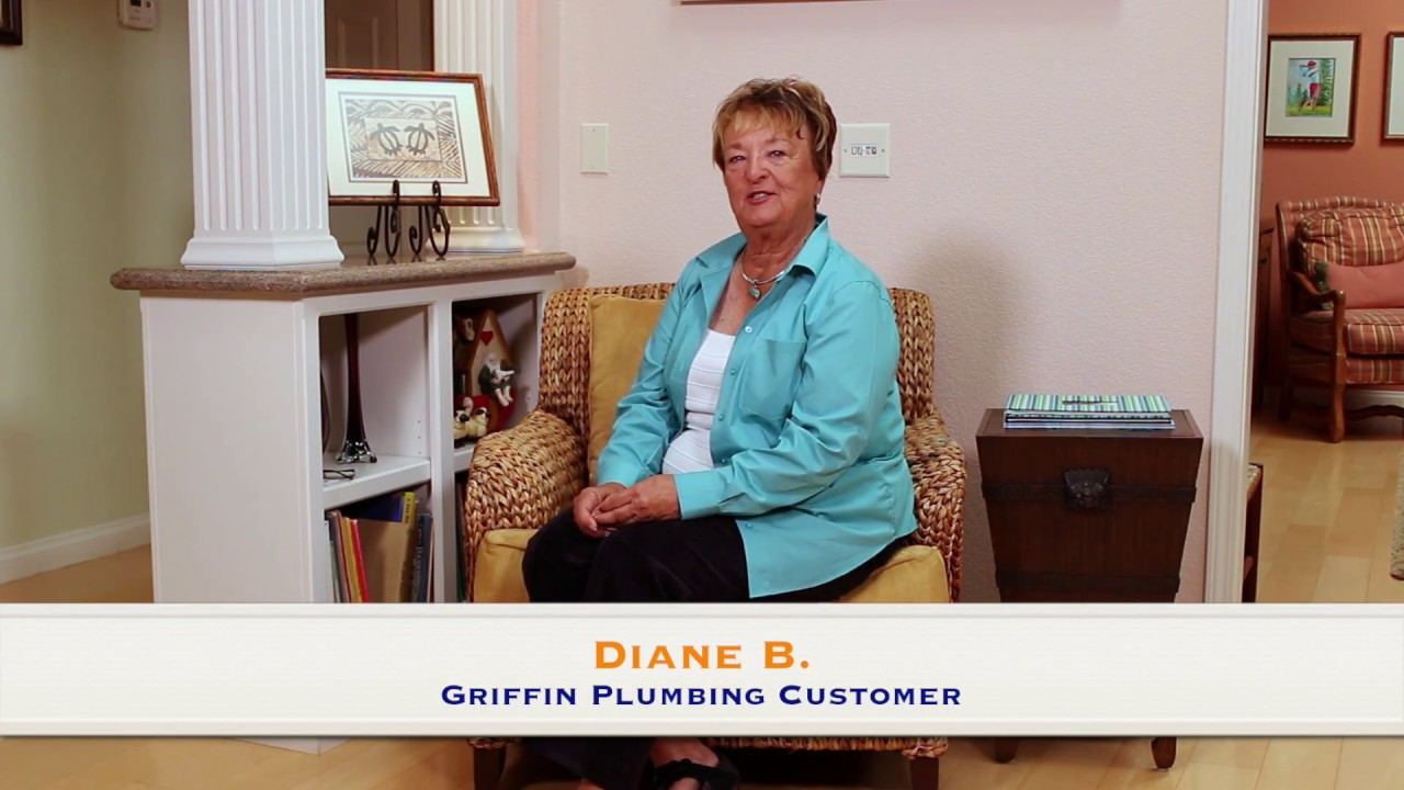 Griffin Plumbing Santa Maria Orcutt Verified 5 Star Review By Diane B