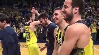 Fenerbahçe  Real Madrid Euroleague Basketbol Maçı Özel Görüntüler - Basketball.com.tr