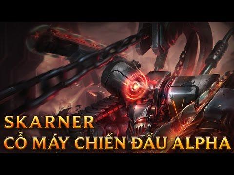 Skarner Cỗ Máy Chiến Dấu Alpha - Battlecast Skarner - Skins lol