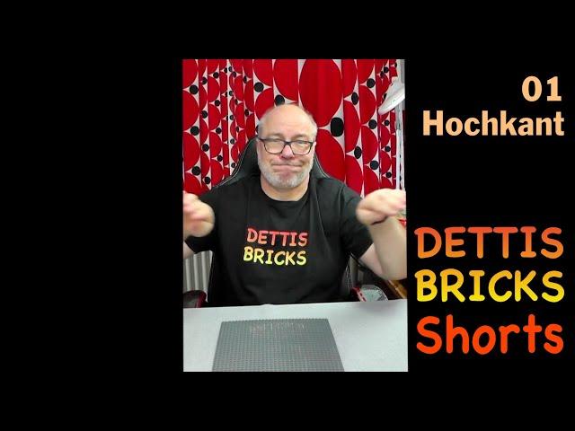 Hochkant - Dettis Bricks Shorts 01 - #shorts