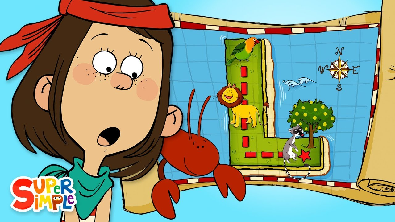 Alphabet Cartoon - A Looney Adventure on L Island with the ABC Pirates