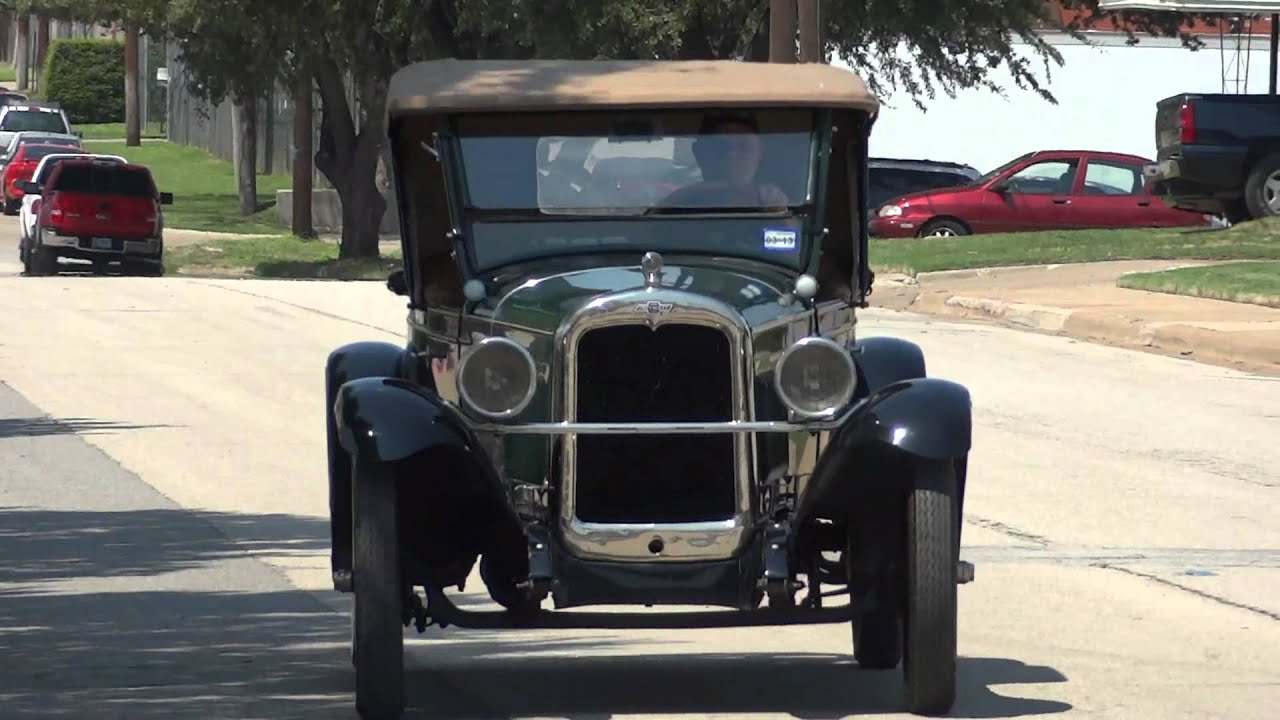 1927 Chevrolet Series AA Capitol Roadster - YouTube