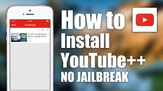 Installation YouTube ++ and  Facebook ++ without Jailbreak
