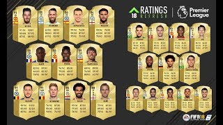 RATINGS REFRESH (UPGRADES) PREMIER LEAGUE ¿MERECEN LA PENA? - FIFA 18 ULTIMATE TEAM