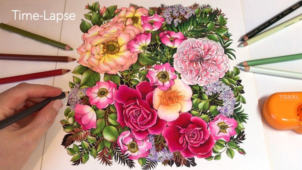 Time Lapse Rose Garden
