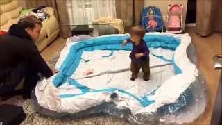 видео бассейны детские надувные