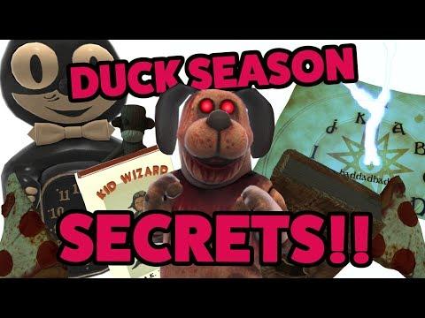 DUCK SEASON ALL SECRETS!! Oculus Rift Gameplay