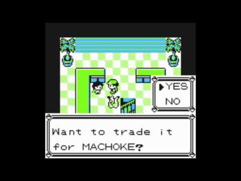 Pokemon Yellow- How To Get Machamp Without Another Gameboy