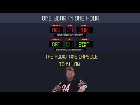 EP7 - Tony Law.   The Audio Time Capsule podcast