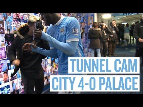 YAYA PUNKS NASRI!   Tunnel Cam   City 4-0 Palace