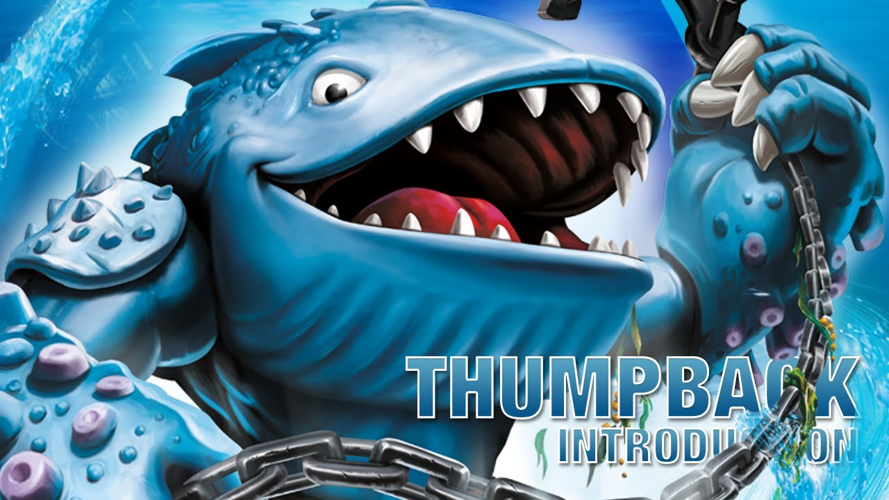 Introduction skylanders swap force thumpback youtube - Skylanders thumpback ...