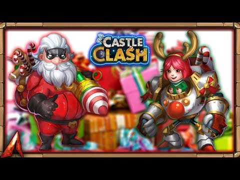 JOIN The Holiday SPIRIT! Castle Clash