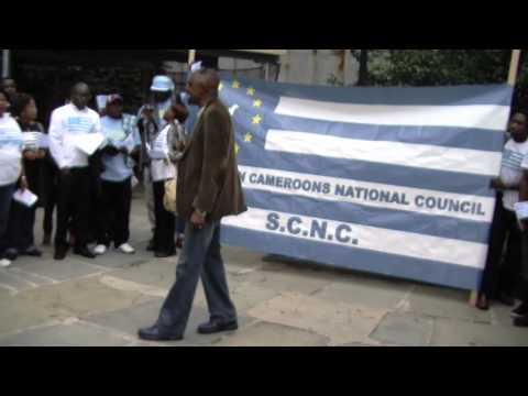 SCNC OCT 1 2011 Protest at the UN