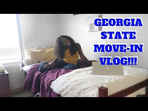 COLLEGE MOVE-IN VLOG FAIL!  GEORGIA STATE UNIVERSITY