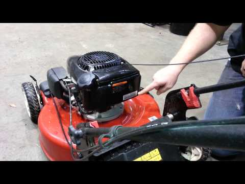 How to find your mowers's model and serial number - YouTube