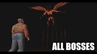 Silent hill - all bosses (with cutscenes) hd - (good ending+)