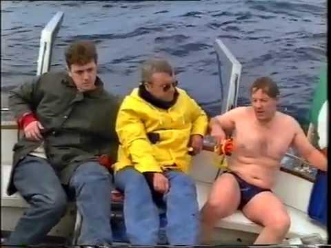 Irish Sea Relay Swim 1993. Long Distance Outdoor Swim. Stena Sealink Challenge