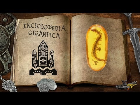 Monster Hunter Lore - Enciclopedia Gigántica - Especies Extintas / 絶滅種 thumbnail