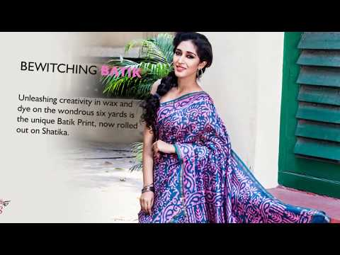 Buy Batik Print Sarees Online