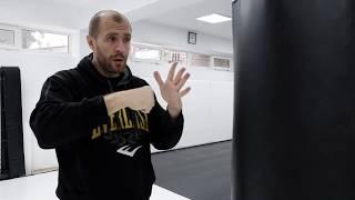 Бокс: работа на мешке. Видео урок тренера по боксу. Thebestgyms.ru