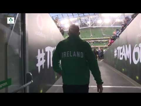 Irish Rugby TV: Ireland v Argentina Tunnel Cam