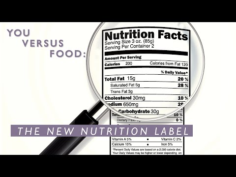 FDA's New Food Labels Would Concentrate on Calories, Sugar Content
