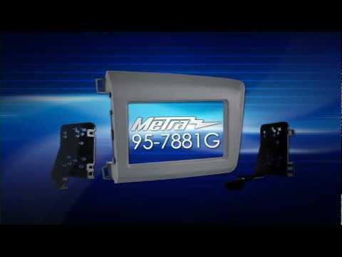 Metra HONDA CIVIC 2012 & UP 99-7881G Dash Kit