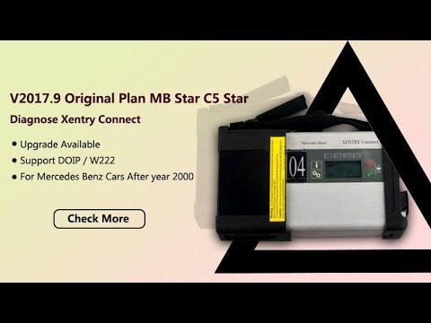 MB Star C5 Star Diagnose Mercedes C5 Support DOIP Test