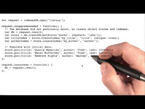 IndexedDB - Mobile Web Development