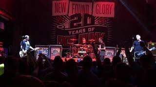 New Found Glory Don't Let This Be The End Live 7-18-17 Mercury Ballroom Louisville KY