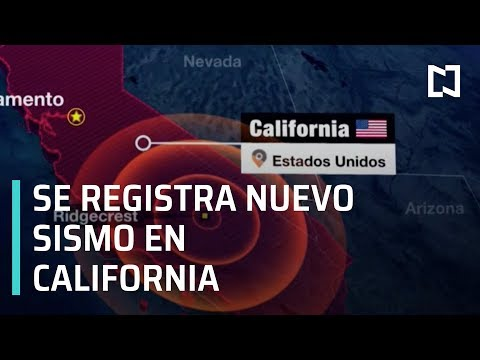 Se registra nuevo sismo en California - Expreso de la Mañana