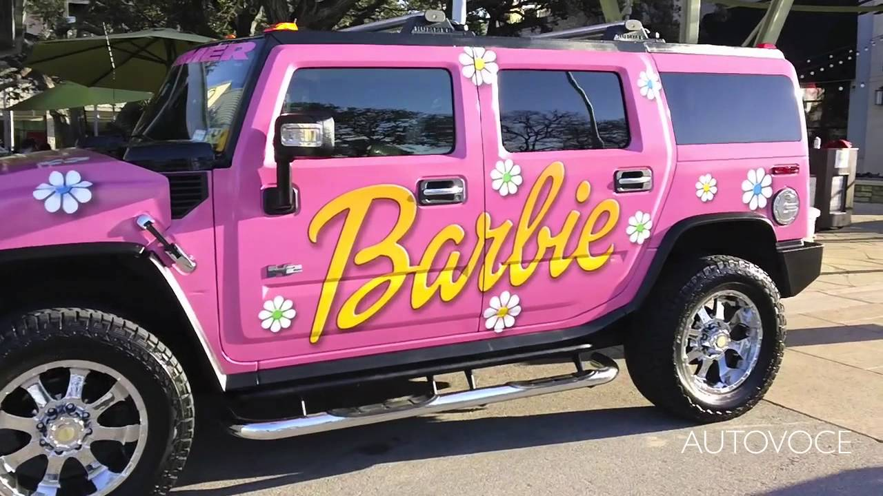 real barbie hummer youtube. Black Bedroom Furniture Sets. Home Design Ideas