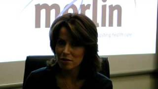 Natasha Kaplinsky and Merlin