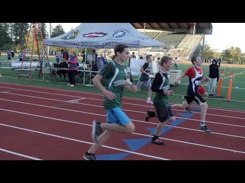 Kulshan Middle School Track Meet October 2 2018
