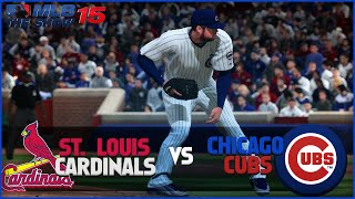MLB 15 The Show Chicago Cubs Franchise- Opening Day vs St. Louis Cardinals