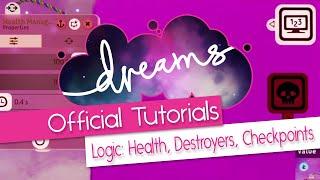 PS4 Hayalleri mantık - Sağlık Değiştiriciler, Destroyer, kontrol Noktaları - Resmi Mm Öğretici -