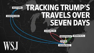 Trump Covid-19 Diagnosis: Tracking His Movements In the Seven Days Prior | WSJ