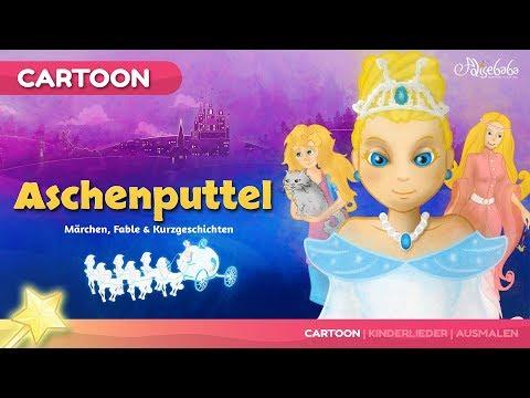 Aschenputtel ( Cinderella ) Gute Nacht Geschichte | Märchen für Kinder | Animation HD auf Deutsch