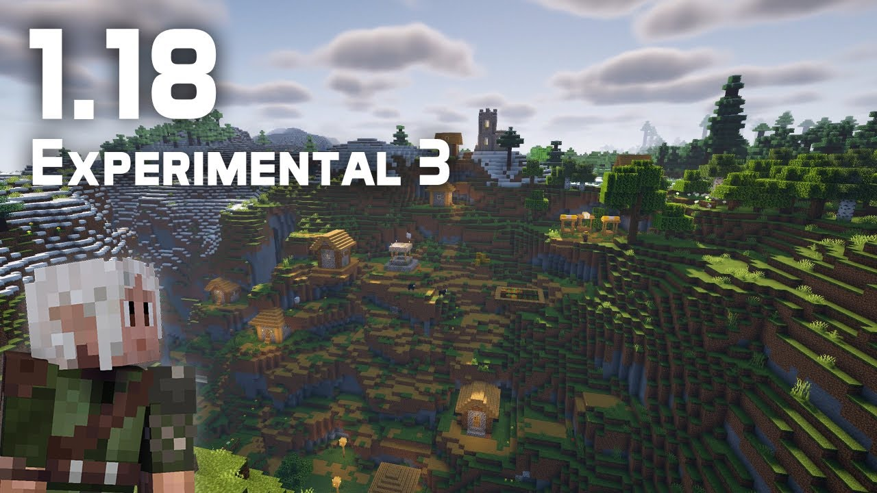 What's New in Minecraft 1.18 Experimental Snapshot 3?