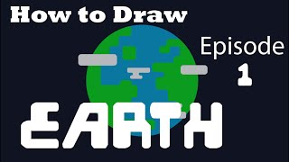 How To Draw - Earth [Vector Design] Adobe Illustrator